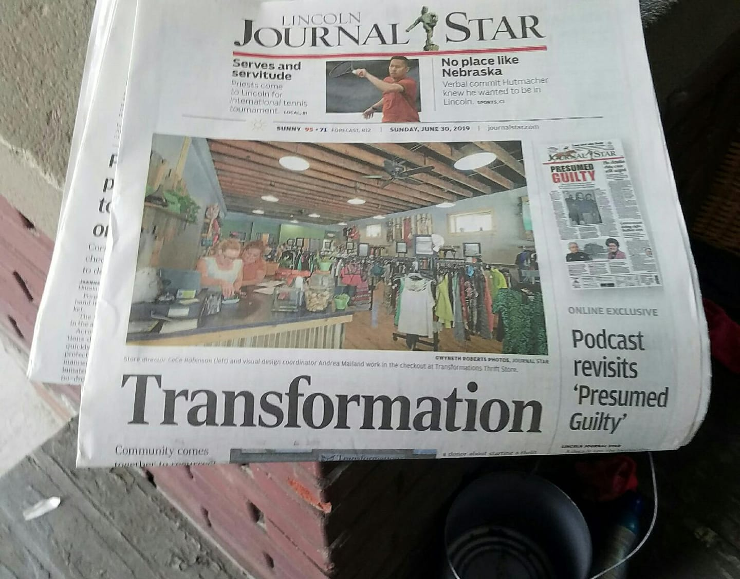 Check out the awesome showcase of F-Street Church, Transformations Thrift, and Atlas in the Lincoln Journal Star! (click to read the article)