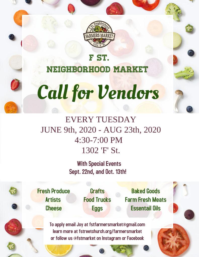 Call For Vendors[20201]